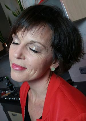 Auteur visagiste Jenny Van Belle -  Trying out Bride Make-Up