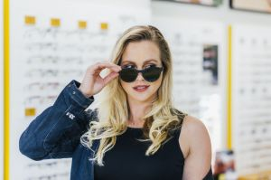 Auteur model Leoni Goudkuil - For Spex opticiens by Ali